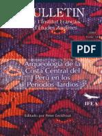 Binford - 1981 - 2001 - La Arqueologia Conductual y La Premisa de Pompeya