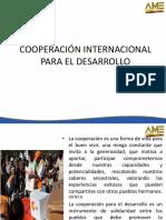 Introducción a La Cooperación Internacional