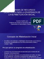 Programa de Alfabetización Inicial