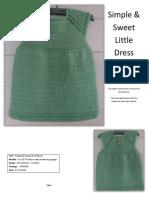 Simple Sweet Little Dress