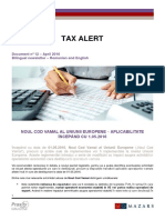 12_Mazars Tax Alert_RO_EN...29-04-2016