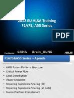 Training F1A55 Series