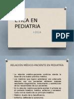 Etica en Pediatria