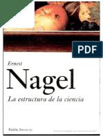 Nagel, La Estructura de La Ciencia, I