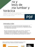 Protocolos en Fractura y Artrodesis de Columna Lumbar