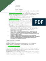 Apuntes Derecho Laboral de Clases