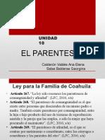 Calderon Valdes Ana Elena y Salas Balderas Georgina Unidad 10 El Parentesco