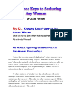 Pilinski, Michael - Free Minicourse - Three Keys to Seducing Any Woman (Key 2)