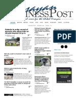 Visayan Business Post 23.05.16
