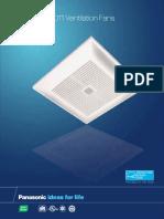 Fan Panasonic