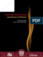 Didactica Bibliotecologia Aproximaciones Instituciones