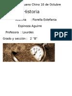 Caratula Colegio Peruano Chino 10 de Octubre