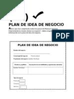 Formato Plan de Negocio
