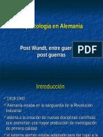 Alemania Post Wundt