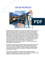 Produccion de Petroleo
