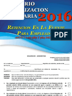 Actualización Tributaria 2016_Tema 6 _Retención Empleados_Artículo 383 y 384 Del ET