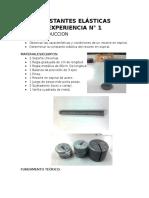 Informe 1 de Fisica II