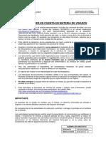 VISADOS - Notas Importantes a Tener en Cuenta