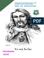 Programación Curricular Religión 2016