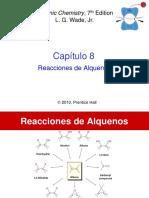 REACCIONES ALQUENOS