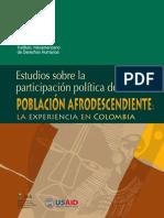 IIDH, Estudios PP Afrodescendientes. Colombia