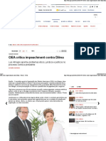 OEA Critica Impeachment Contra Dilma - Brasil - O Dia