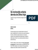 Só Reviravolta Evitaria Derrota de Dilma Hoje _ Blog Do Kennedy