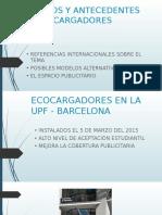 Modelos y Antecedentes de Ecocargadores