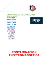 Informe de Contaminacion Electromagnetica