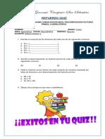 Repaso Quiz 4º 4