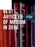 Best Articles of Medium in 2016