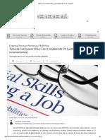 Tipos de Currículum Vitae_ ¿Qué Modelo de CV Me Conviene