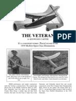 The Veteran - a Free-Flight Model Airplane