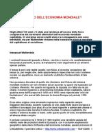 Wallerstein Immanuel - Il Futuro Dell Economia Mondiale