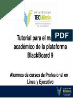 Tutorial Bb9 Profesional Alumno