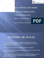 Clase 07 Tectonica de Placas