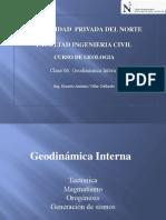 Clase 06 Geodinámica Interna