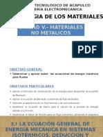 Unidad 5 Materiales no metalicos