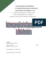 arqueo bibiliografico sobre causas y efectos de la crisis economica mundial