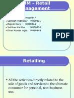 Retail - Merchandising