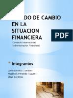 Estado de Cambio en La situación financiera