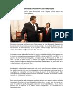 Los Gobiernos de Alan García y Alejandro Toledo