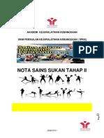 Nota Sains Sukan Tahap II