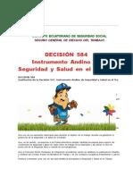 Decision  584 seguridad industrial