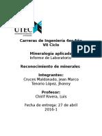 Lab Minerologia 1