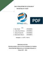 5. Penetrant Test