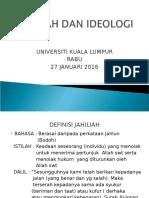 Jahiliah Dan Ideologi