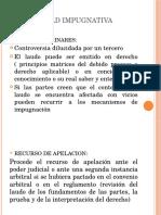 La Actividad Impugnativa Diapo Expo 31.1.14