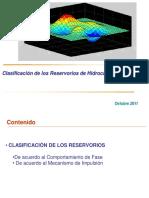 Clase 4 - Clasificación de Los Reservorios