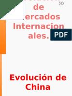 Evolucion de Mercados Internacionales